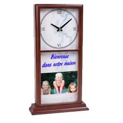 Horloge avec 2 plaques imprimables
