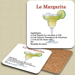 Sous verre Margarita