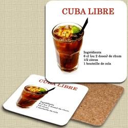 Sous verre Cuba Libre