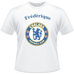 T-shirt foot supporters Chelsea