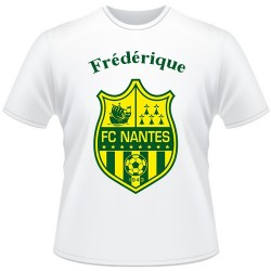 T-shirt foot supporters Nante