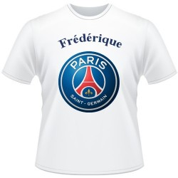 T-shirt foot supporters PSG