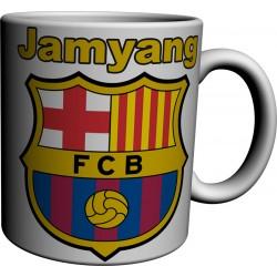 Mug tasse Barcelone avec prènom